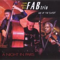 A Night in Paris, Live at the Sunset - CD coverart