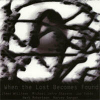 When the Lost Becomes Found - CD coverart