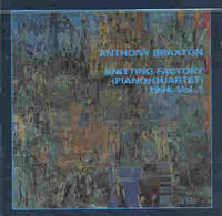 Knitting Factory (piano / Quartet) 1994, Vol.1 - CD coverart